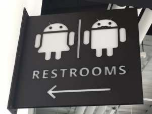 google restrooms
