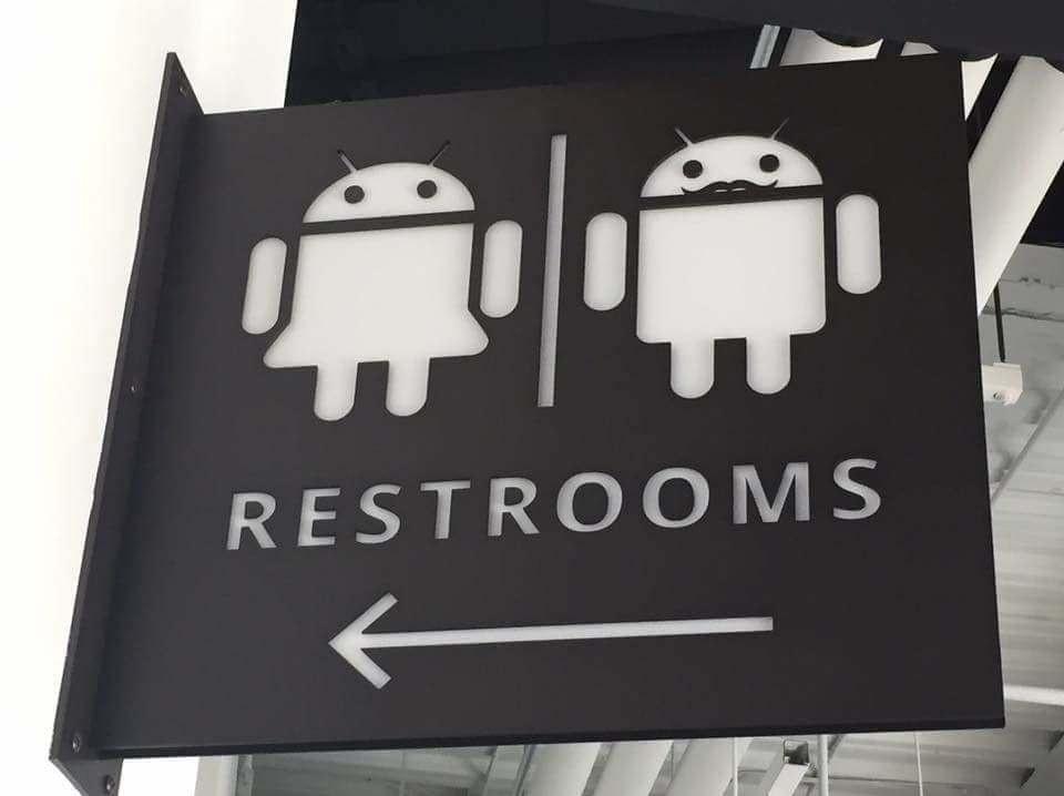google restrooms