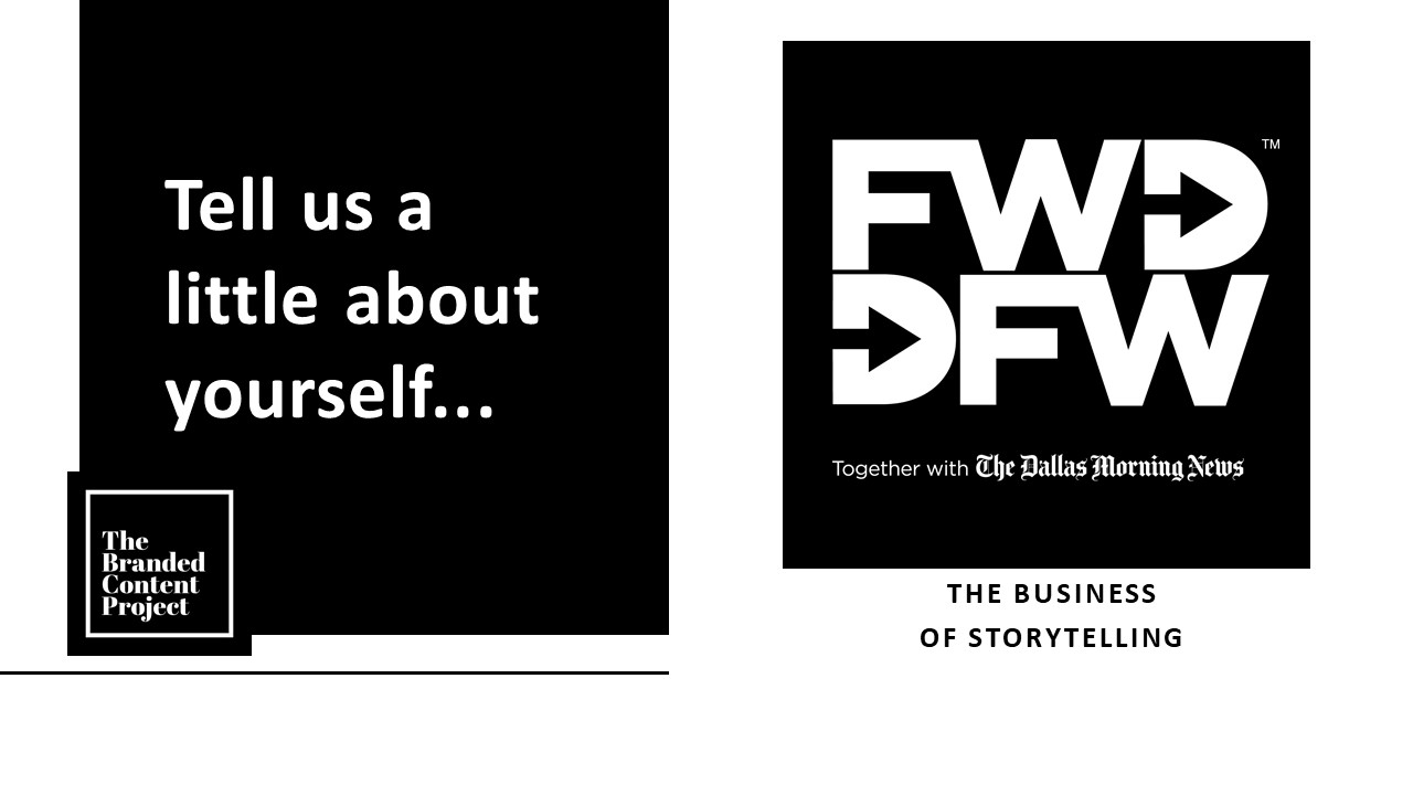 %name Learn how The Dallas Morning News Uses Cause Marketing to Grow Revenue and Volunteerism With FWD>DFW