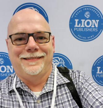 Jay Small at LION Publishers Summit