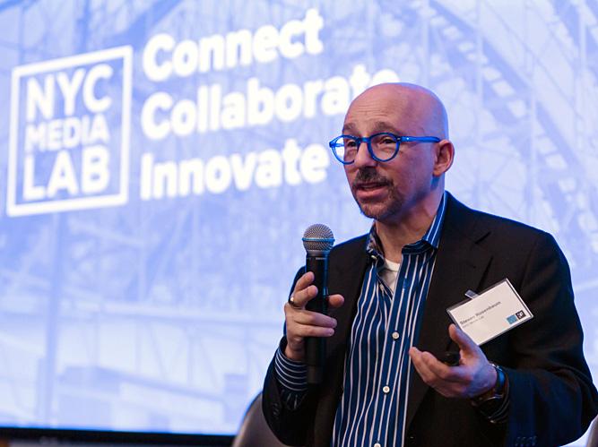 Steven Rosenbaum, NYC Media Lab (Photo: Jo Chiang / NYC Media Lab)