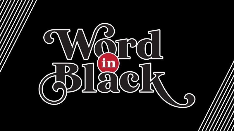 Word in Black