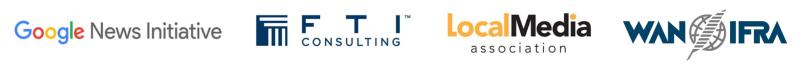 GNI, FTI, LMA, WAN-IFRA logos